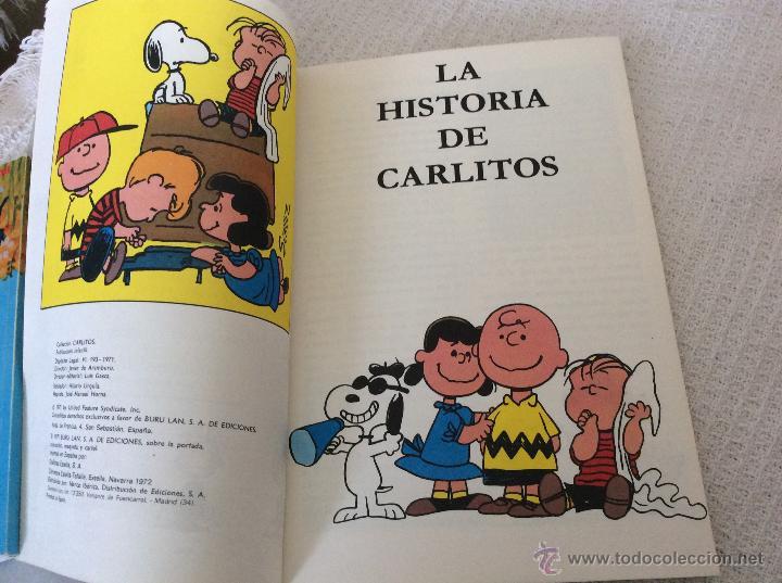Cómics: CARLITOS (snoopy) numero 1 con CARTEL - Foto 3 - 54651169