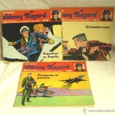 Cómics: JOHNNY HAZARD Nº 1, 2 Y 3. BURU LAN. Lote 54703746