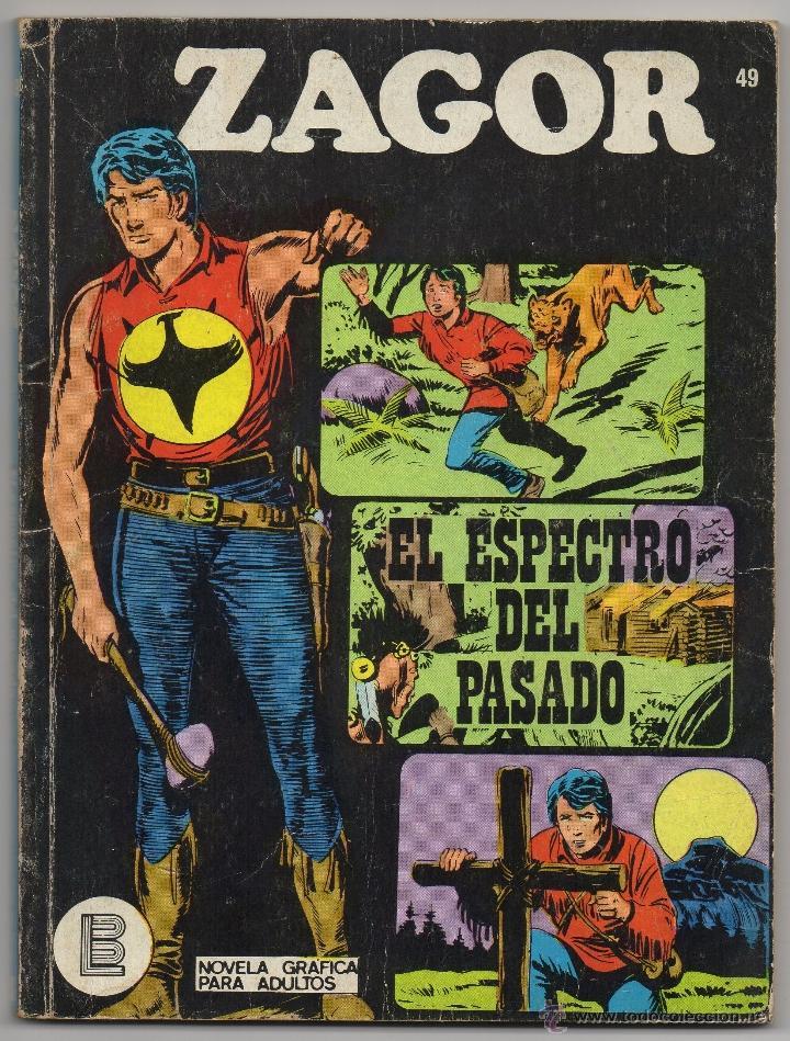 ZAGOR Nº 49 (BURU LAN 1972) (Tebeos y Comics - Buru-Lan - Zagor)