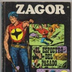 Cómics: ZAGOR Nº 49 (BURU LAN 1972). Lote 54734826