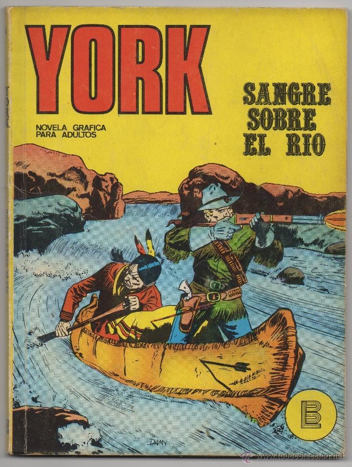 YORK Nº 4 (BURU LAN 1971) (Tebeos y Comics - Buru-Lan - Otros)