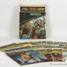 Cómics: 7081 - HEROES DEL COMIC,FLASH GORDON. 22 EJEMPLARES,20 TAPAS(VER DESCRIP). 1973.. Lote 52810899