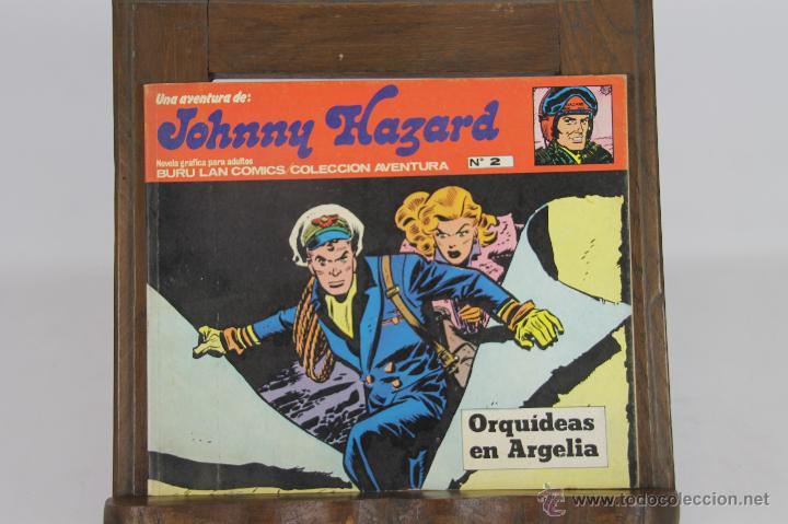 5724- LOTE DE 3 COMICS EDIT. BURU LAN. BEN BOLT Y JOHNNY HAZARD. AÑOS 70. (Tebeos y Comics - Buru-Lan - Otros)