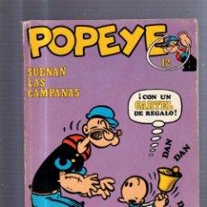 Cómics: TEBEO POPEYE. SUENAN LAS CAMPANAS. Nº 12. BURU LAN EDICIONES. Lote 54814426