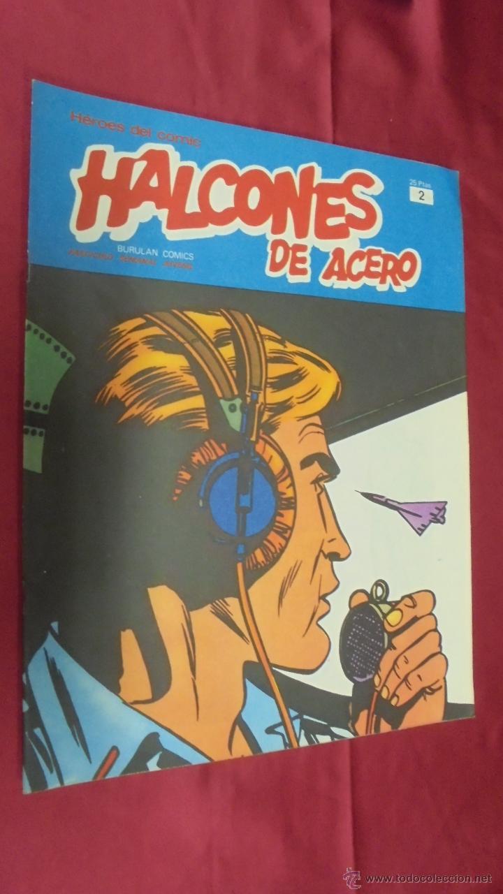 HALCONES DE ACERO. Nº 2. BURU LAN EDICIONES. (Tebeos y Comics - Buru-Lan - Halcones de Acero)