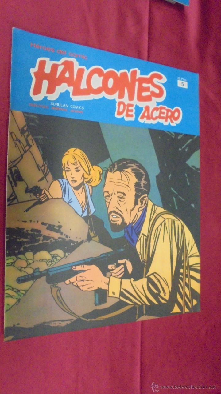 HALCONES DE ACERO. Nº 5. BURU LAN EDICIONES. (Tebeos y Comics - Buru-Lan - Halcones de Acero)