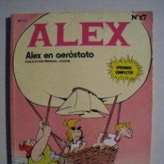 Cómics: ALEX Nº 17 - ALEX EN AEROSTATO - EDICIONES BURU LAN.. Lote 54866373