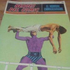 Cómics: 2 FASCÍCULOS DE EL HOMBRE ENMASCARADO, DE BURU LAN. Lote 55004003