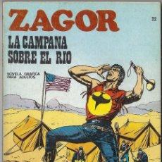 Cómics: ZAGOR: Nº 22. LA CAMPANA SOBRE EL RÍO. BURU LAN EDICIONES. Lote 55146123