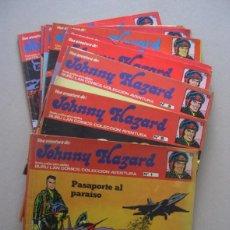Cómics: 9 NUMEROS DE JOHNNY HAZAR (LOS PRIMEROS). Lote 55870655