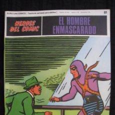 Fumetti: EL HOMBRE ENMASCARADO - Nº 81 - BURU LAN EDICIONES.. Lote 55901459