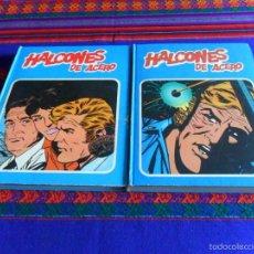 Cómics: BUEN PRECIO, HALCONES DE ACERO COMPLETA TOMO 1 Y 2. BURU LAN 1974. . Lote 56119990