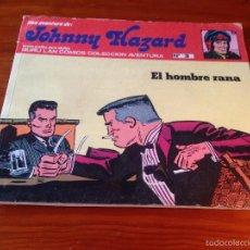 Cómics: JOHNNY HAZARD Nº 3. EL HOMBRE RANA. BURU LAN 1973. FRANK ROBBINS.. Lote 56203696