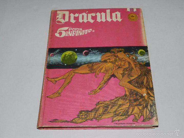 (M) DRACULA TOMO 2 EDC BURU LAN , SAN SEBASTIAN 1971 , POCAS SEÑALES DE USO (Tebeos y Comics - Buru-Lan - Drácula)
