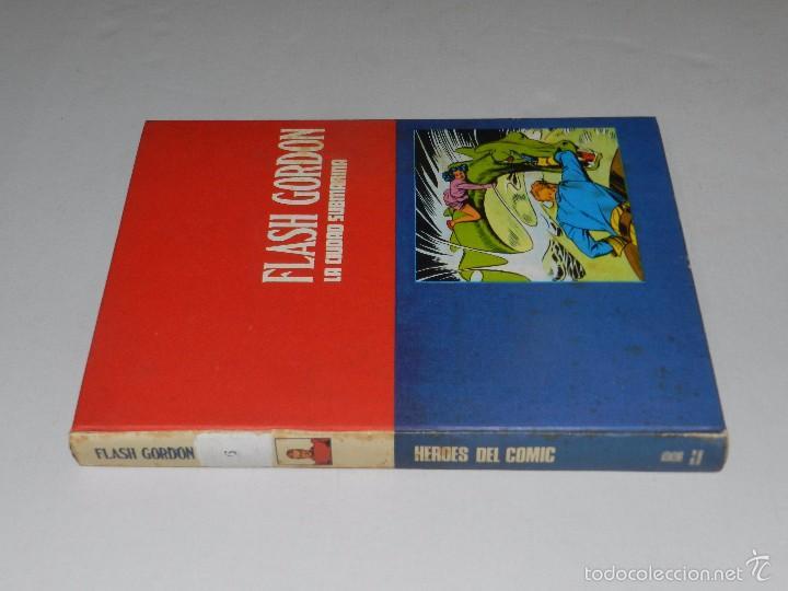 Cómics: (M) FLASH GORDON TOMO 6 EDC BURU LAN , SAN SEBASTIAN 1973 , POCAS SEÑALES DE USO - Foto 2 - 56236161