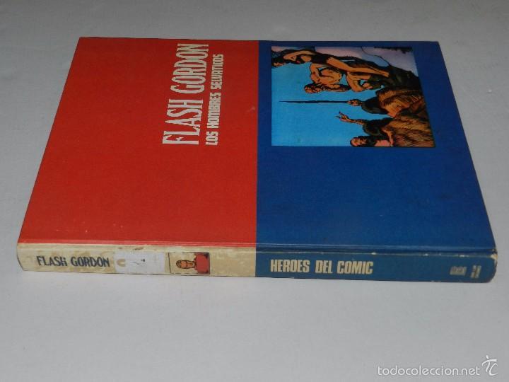Cómics: (M) FLASH GORDON TOMO 4 EDC BURU LAN , SAN SEBASTIAN 1973 , POCAS SEÑALES DE USO - Foto 2 - 56236222