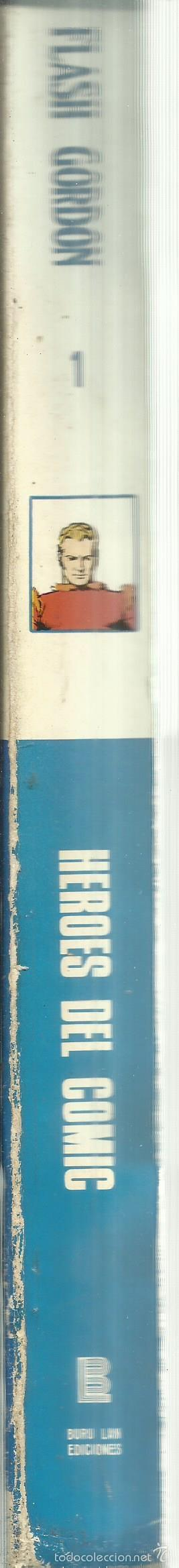 Cómics: FLASH GORDON. BURU LAN. SAN SEBASTIAN. 1972 - Foto 3 - 56250051