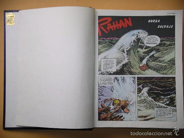 RAHAN, COMPLETA 24 NºS, ED. BURU LAN, AÑO 1974, POR LECUREUX Y CHERET, BURULAN. A1 (Tebeos y Comics - Buru-Lan - Rahan)