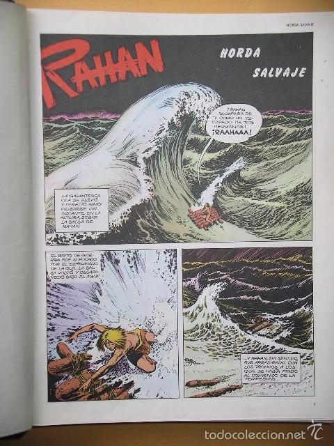 Cómics: Rahan, completa 24 nºs, ed. Buru Lan, año 1974, por Lecureux y Cheret, Burulan. a1 - Foto 4 - 56297787