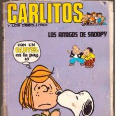 Cómics: CARLITOS Y LOS CEBOLLITAS, Nº 7: LOS AMIGOS DE SNOOPY - BURU LAN - OFERTAS DOCABO TEBEOS (C-D-A). Lote 56327499