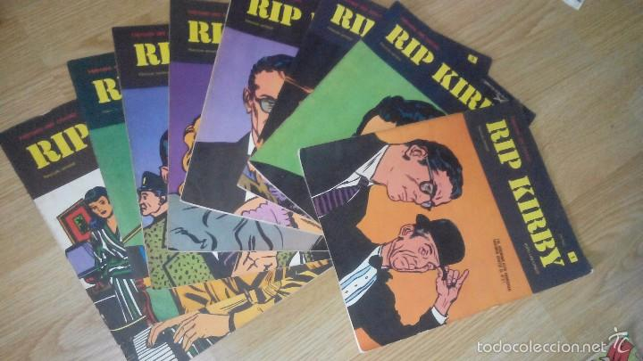 RIP KIRBY - HEROES DEL COMICS - 1,2,3,4,5,6,7,8 (Tebeos y Comics - Buru-Lan - Rip Kirby)