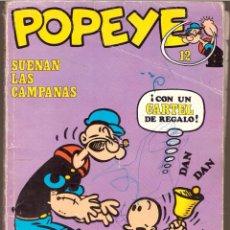 Cómics: POPEYE, Nº 12: SUENAN LAS CAMPANAS - BURU LAN - OFERTAS DOCABO TEBEOS (C-D-A). Lote 56328979