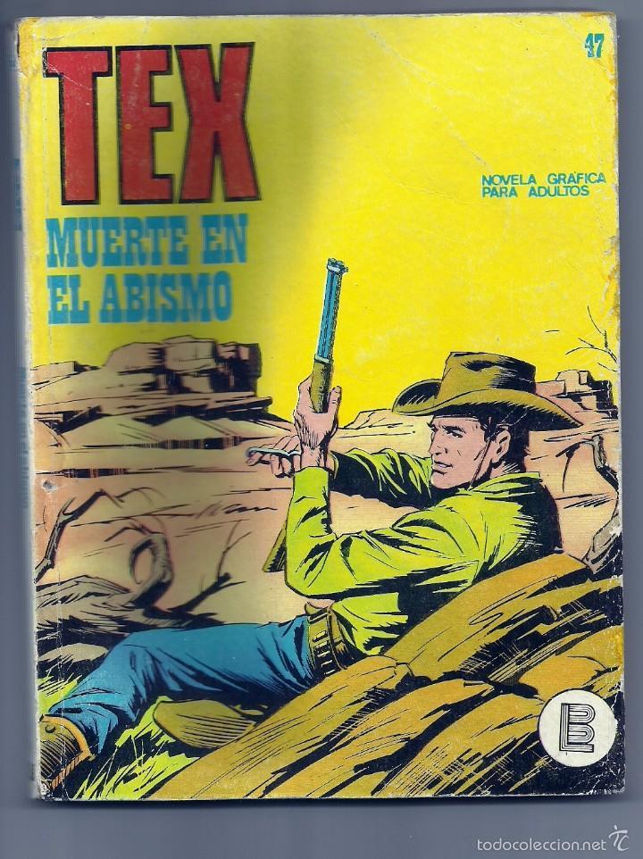 TEX Nº 47 (Tebeos y Comics - Buru-Lan - Tex)