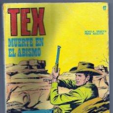Cómics: TEX Nº 47. Lote 56562085