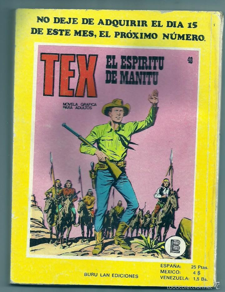 Cómics: Tex nº 47 - Foto 2 - 56562085