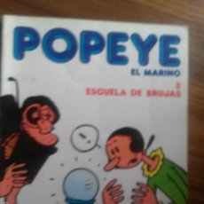 Comics: POPEYE EL MARINO 3. ESCUELA DE BRUJAS. TOMO. BUEN ESTADO. Lote 56660165