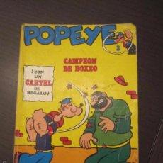 Fumetti: POPEYE. Nº 3. CAMPEON DE BOXEO. BURU LAN. C12. Lote 56790905