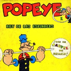 Cómics: POPEYE BULAN ENTRE 1 Y19 CAJA 5-18 E DOS UNIDADES NEW COMIC BIBLIOTE CA 85. Lote 56882288