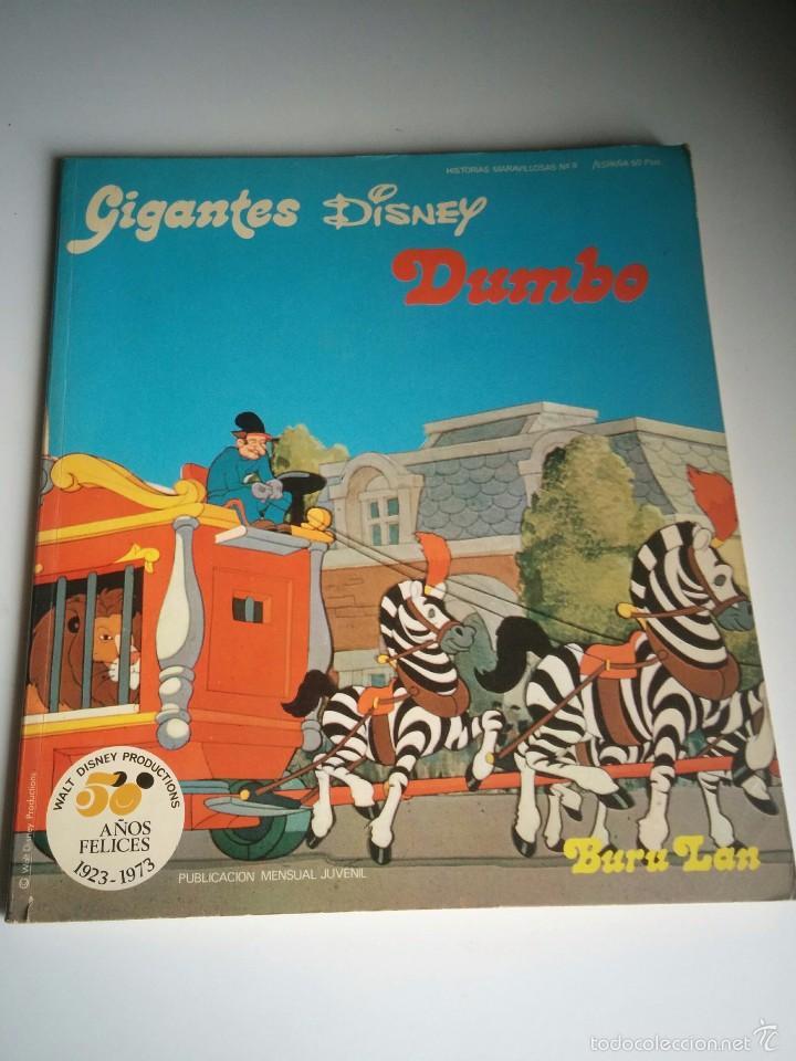 COMICS GIGANTES DISNEY (Tebeos y Comics - Buru-Lan - Otros)