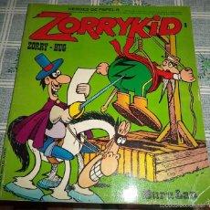Cómics: ZORRYKID N.º 1 BURULAN 1973 HEROES DE PAPEL N.º 8 PASTA SEMIRIGIDA 40 PAGINAS COLOR . Lote 57092037