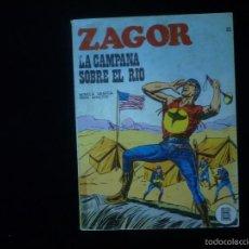 Cómics: ZAGOR LA CAMPANA SOBRE EL RIO Nº 22. Lote 57111614