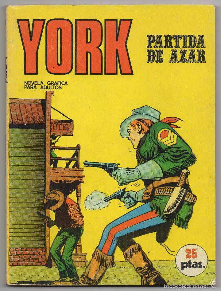 YORK Nº 6 (BURU LAN 1971) (Tebeos y Comics - Buru-Lan - Otros)