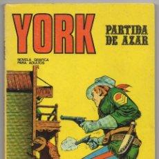 Cómics: YORK Nº 6 (BURU LAN 1971). Lote 57197016