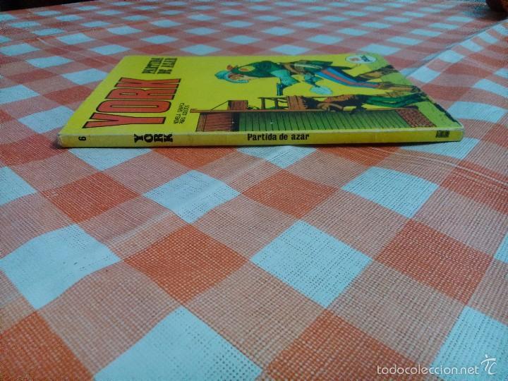 Cómics: YORK nº 6 (Buru Lan 1971) - Foto 2 - 57197016