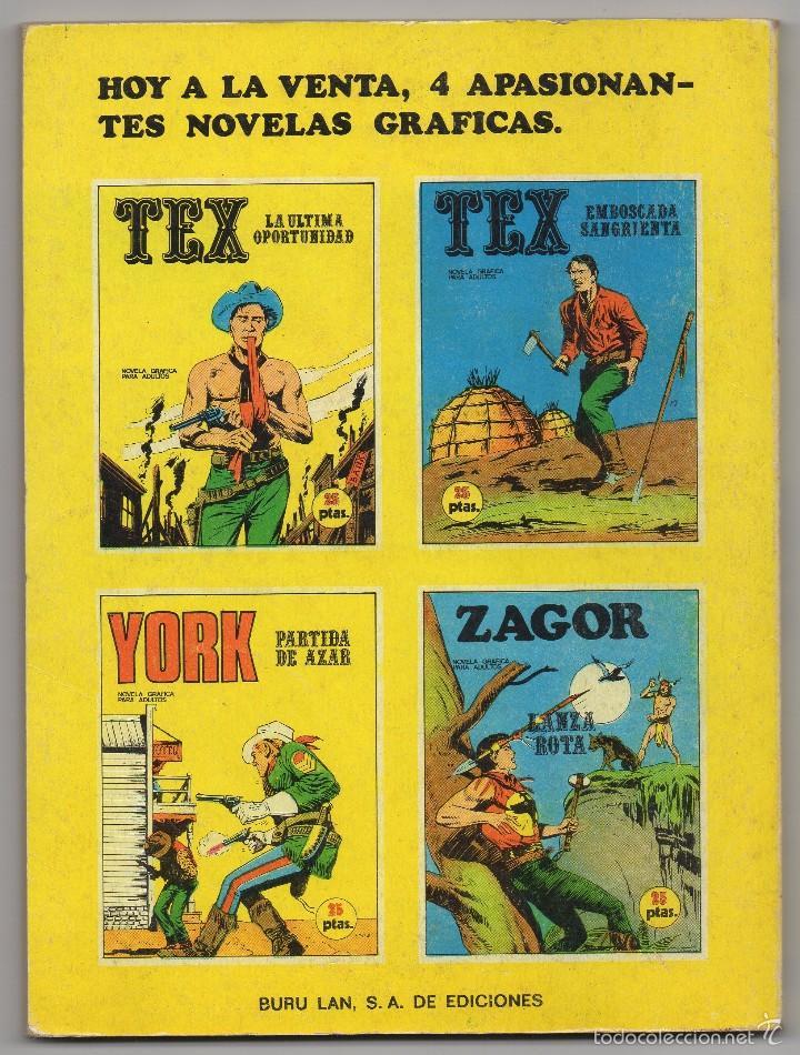 Cómics: YORK nº 6 (Buru Lan 1971) - Foto 3 - 57197016