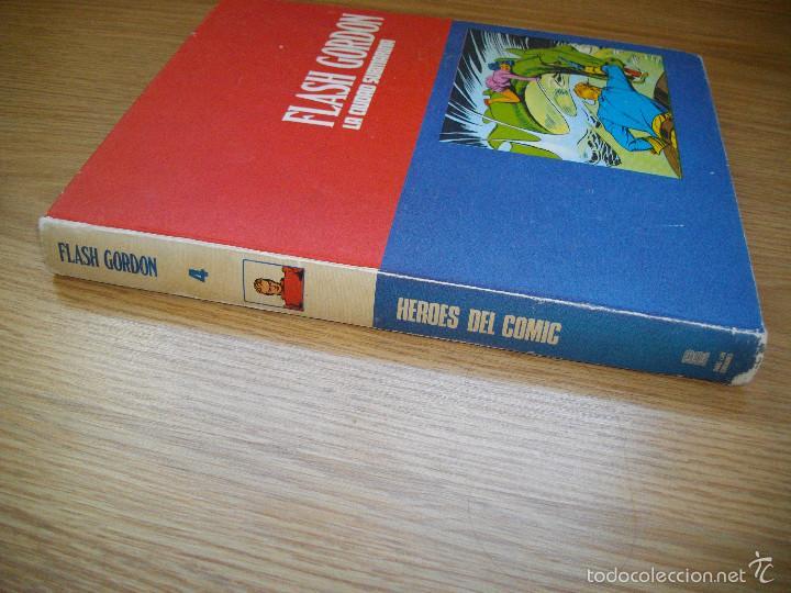 Cómics: HEROES DEL COMIC - FLASH GORDON - TOMO 4 - LA CIUDAD SUBMARINA - BURU LAN - AÑO 1972 - BUEN ESTADO - Foto 2 - 57292174