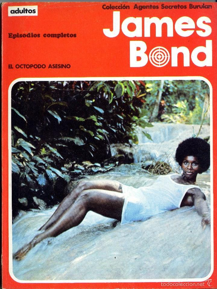 JAMES BONG BURU-LAN RECOPILATORIO PAGS. 122 A 240 2 EPISODIOS AÑO 1973 CAJA 8 (Tebeos y Comics - Buru-Lan - James Bond)