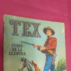 Cómics: TEX. Nº 17. FUEGO EN LA LLANURA. BURU LAN.. Lote 57497069