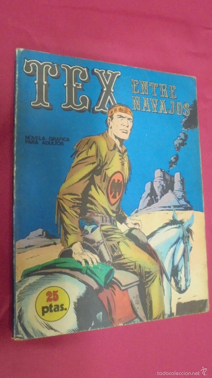 TEX. Nº 12. ENTRE NAVAJOS. BURU LAN. (Tebeos y Comics - Buru-Lan - Tex)