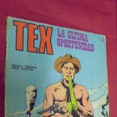 Cómics: TEX. Nº 21. LA ÚLTIMA OPORTUNIDAD. BURU LAN.. Lote 57498276