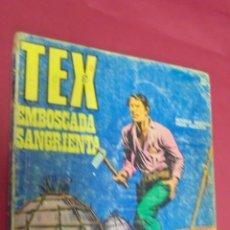 Cómics: TEX. Nº 22. EMBOSCADA SANGRIENTA. BURU LAN.. Lote 57498516