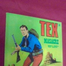 Cómics: TEX. Nº 24. MASACRE. BURU LAN.. Lote 57498649