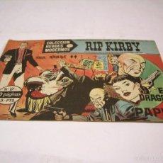 Cómics: HÉROES MODERNOS, RIP KIRBY; SERIE C, DOS NÚMEROS, 1958. Lote 57524134