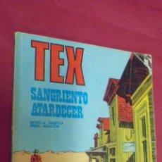 Cómics: TEX. Nº 29. SANGRIENTO ATARDECER. BURU LAN.. Lote 57544206