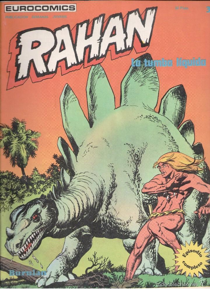 RAHAN Nº 3 BURU LAN (Tebeos y Comics - Buru-Lan - Rahan)