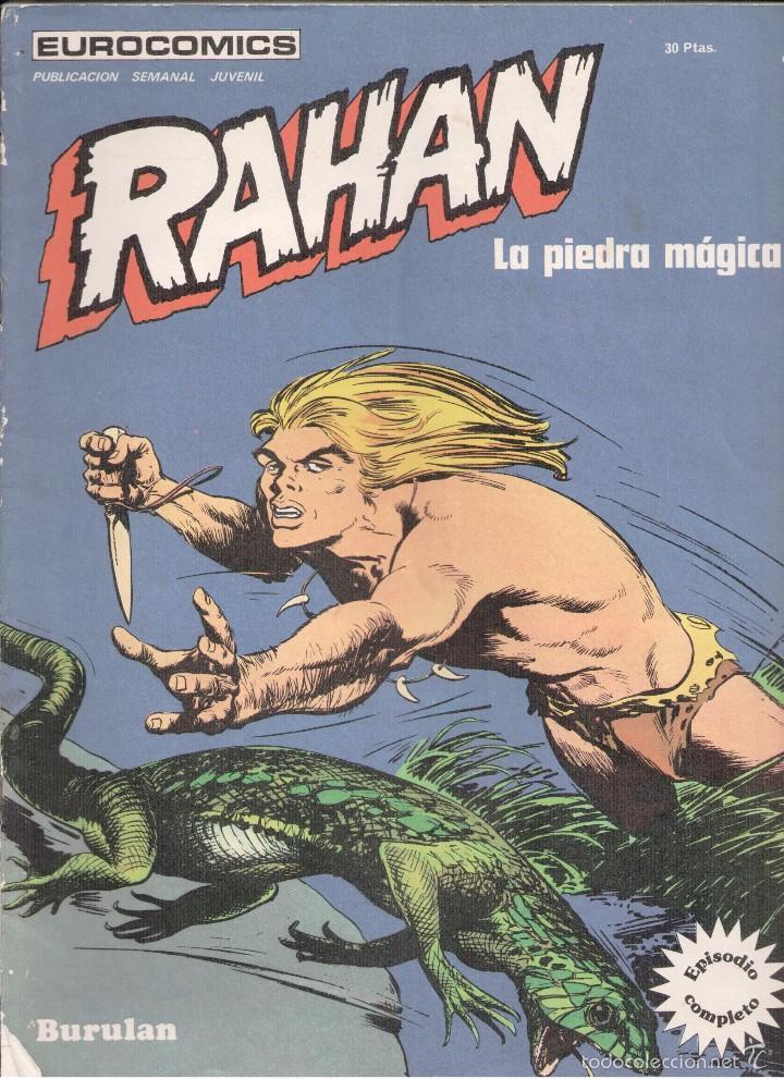 RAHAN Nº 4 BURU LAN (Tebeos y Comics - Buru-Lan - Rahan)